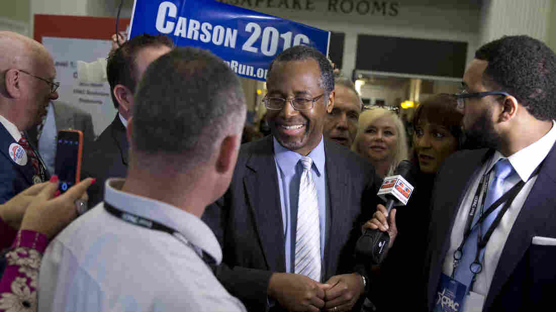 Dr. Ben Carson, a pediatric neurosurgeon, at the Conservative Political Action Conference earlier this year.