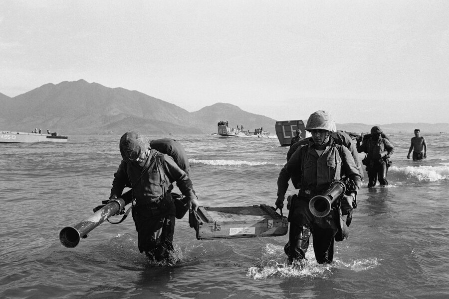 In danang where us troops first landed memories of war have in danang where us troops first landed memories of war have faded sciox Image collections
