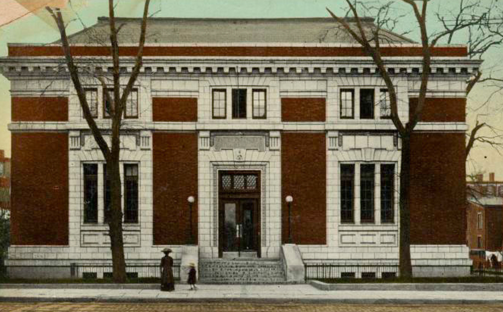 Bedford Branch of the Brooklyn Public Library — a gift from Andrew Carnegie, 1905.