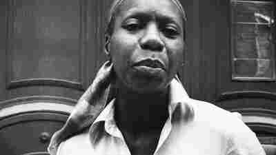 """Jazz singer Nina Simone pictured in 1978, the year she recorded and released the song """"Baltimore."""""""