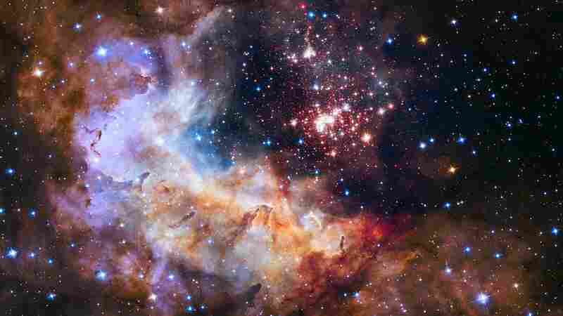 This 2 million-year-old giant star cluster contains some of our galaxy's hottest, brightest and most massive stars.