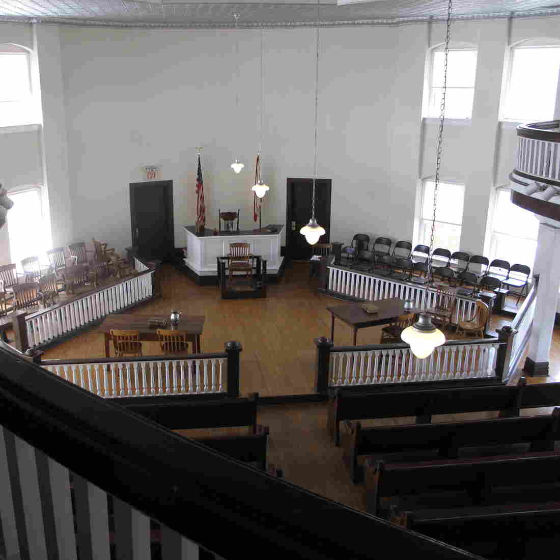 Every spring, local residents have staged a play based on To Kill a Mockingbird in this courthouse in Monroeville, Ala.