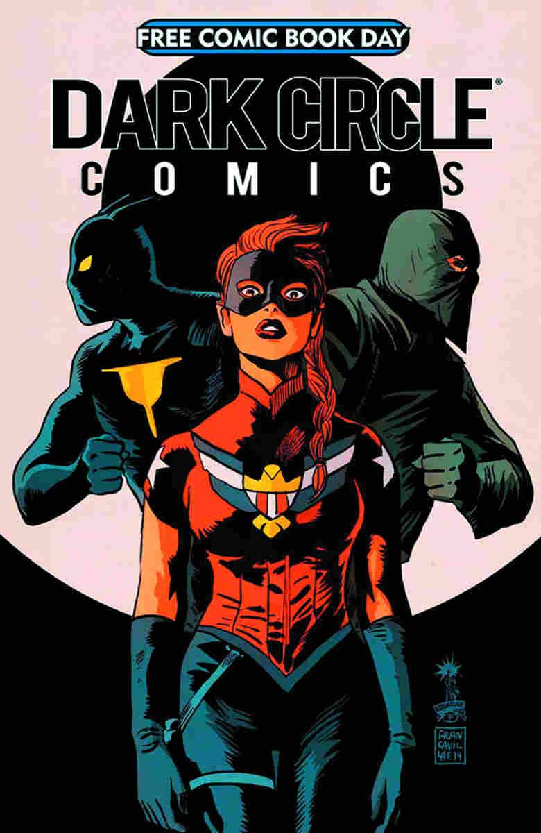 Dark Circle Comics (The Black Hood/The Fox/The Shield)