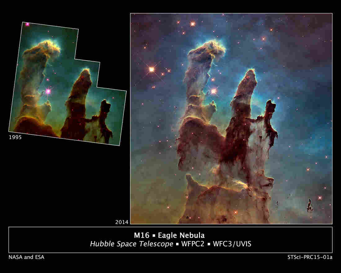Pillars Of Creation May Be Gone In 'An Eye Blink In Cosmic ...