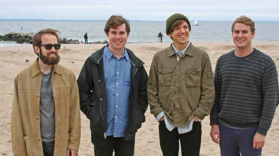 Surfer Blood's new album, 1000 Palms, comes out May 12. (Courtesy of the artist)