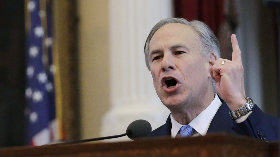 Texas Republican Gov. Greg Abbott ordered the Texas State Guard to monitor a joint U.S. Special Forces training taking place in Texas, prompting outrage from some in his own party. (Eric Gay/AP)