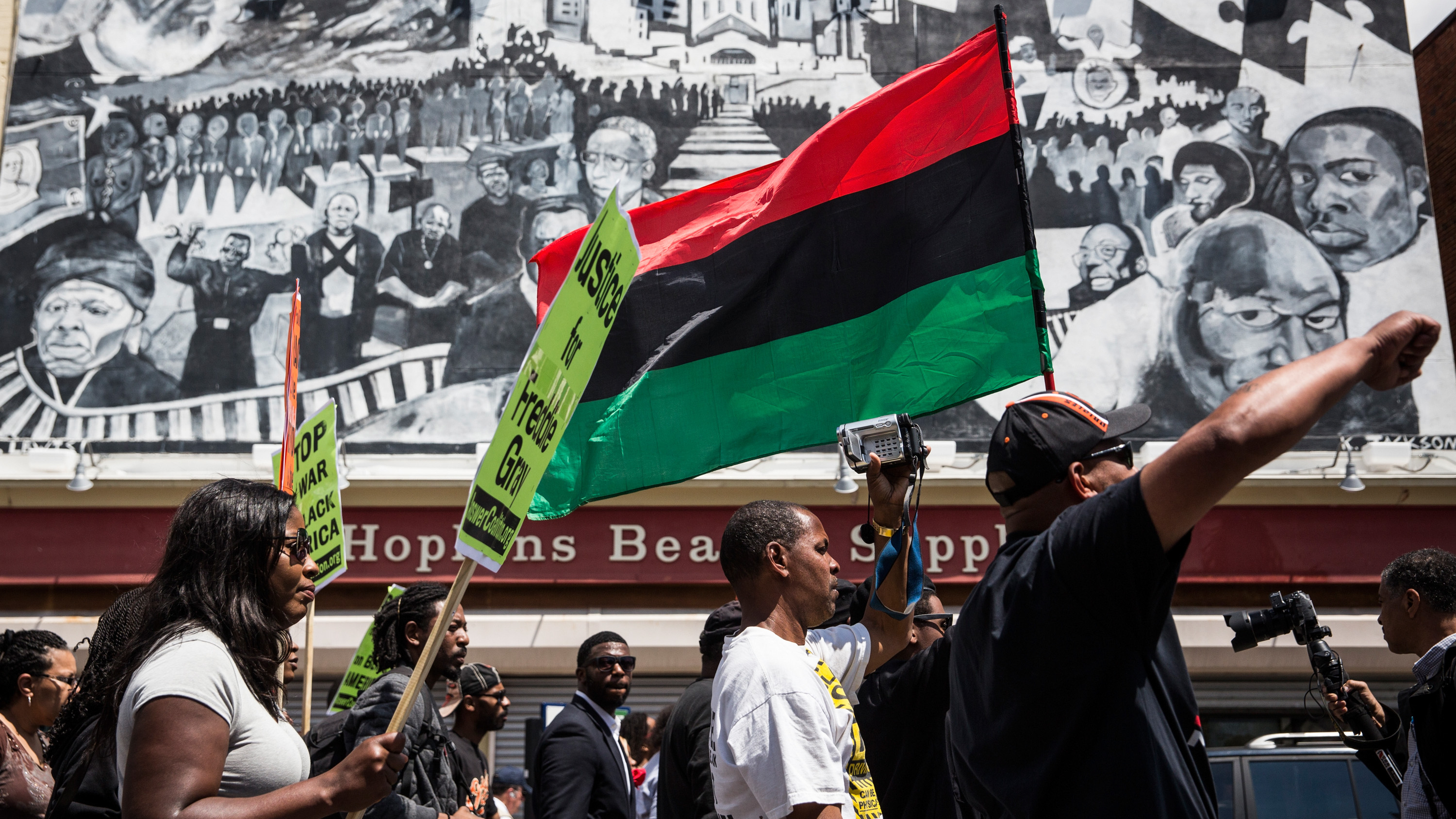 Baltimore Activists Hold 'Victory Rally' After Charges In Gray Death