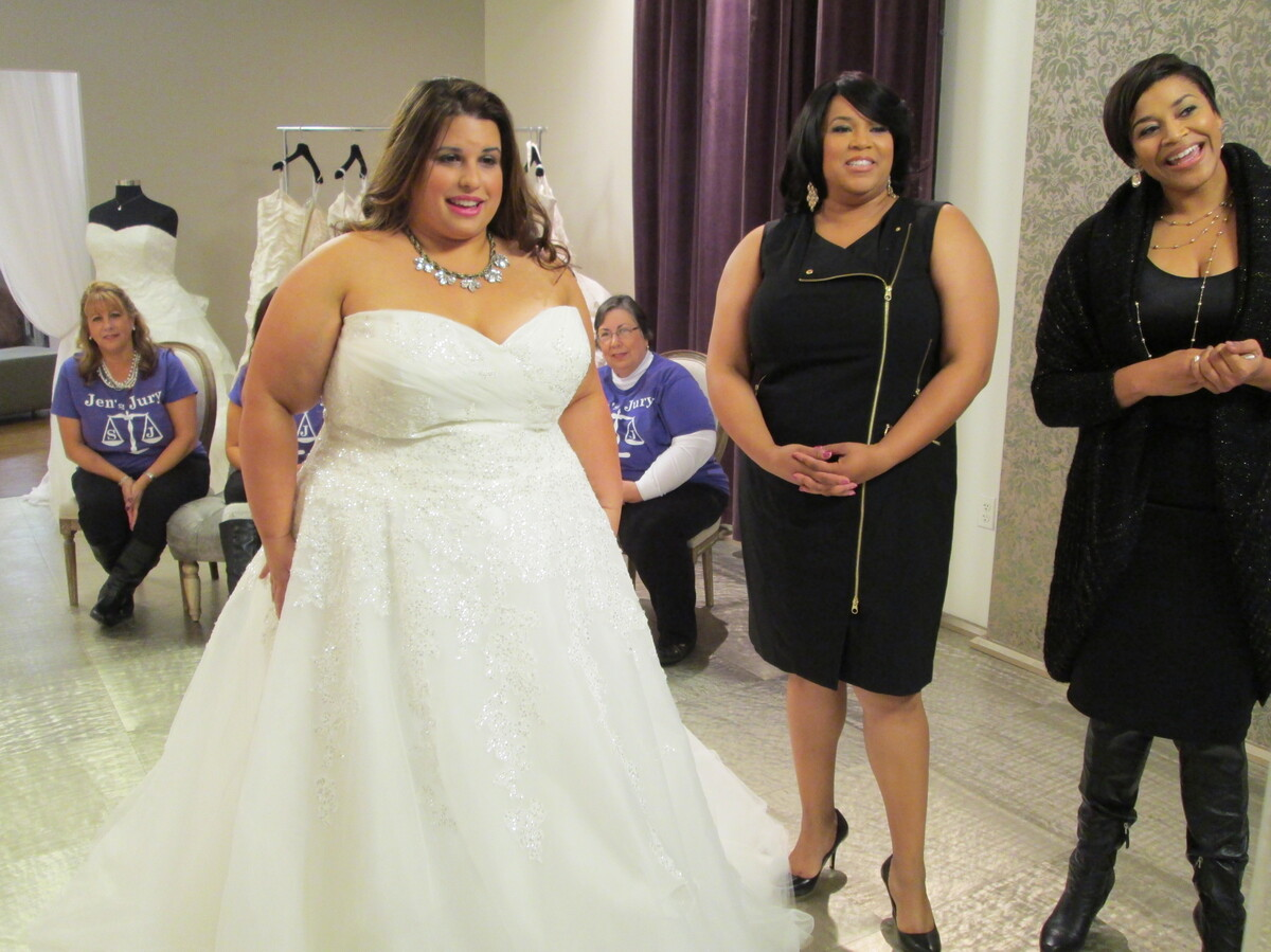 stars of tlc 39 s 39 curvy brides 39 all curves are beautiful. Black Bedroom Furniture Sets. Home Design Ideas