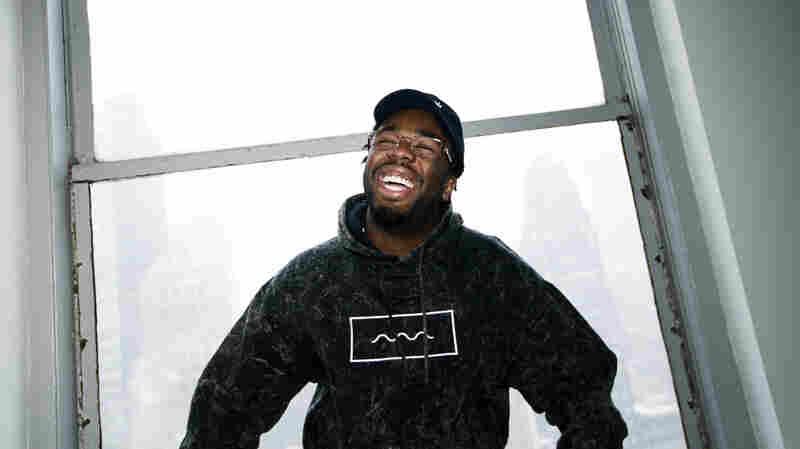 Iamsu in NPR's New York studio in March.