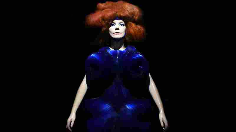 An image from Björk, a show presented by The Museum of Modern Art in New York.
