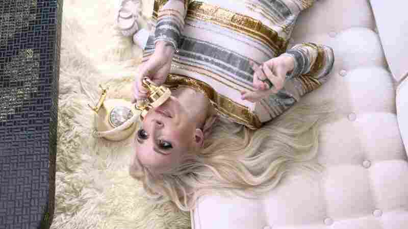 "Ashley Monroe in a scene from her new video for the song ""On To Something Good."""