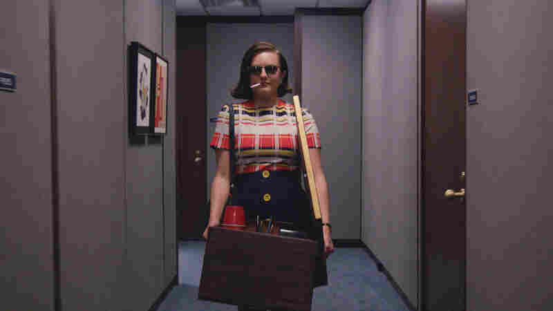Elisabeth Moss as Peggy Olson in Mad Men.