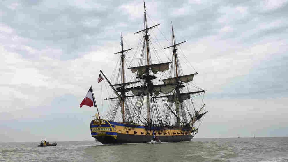 Replica Of Lafayette's Ship Re-Creates Historic Voyage To America