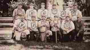 The Dirigo Vintage Base Ball Club in Maine.