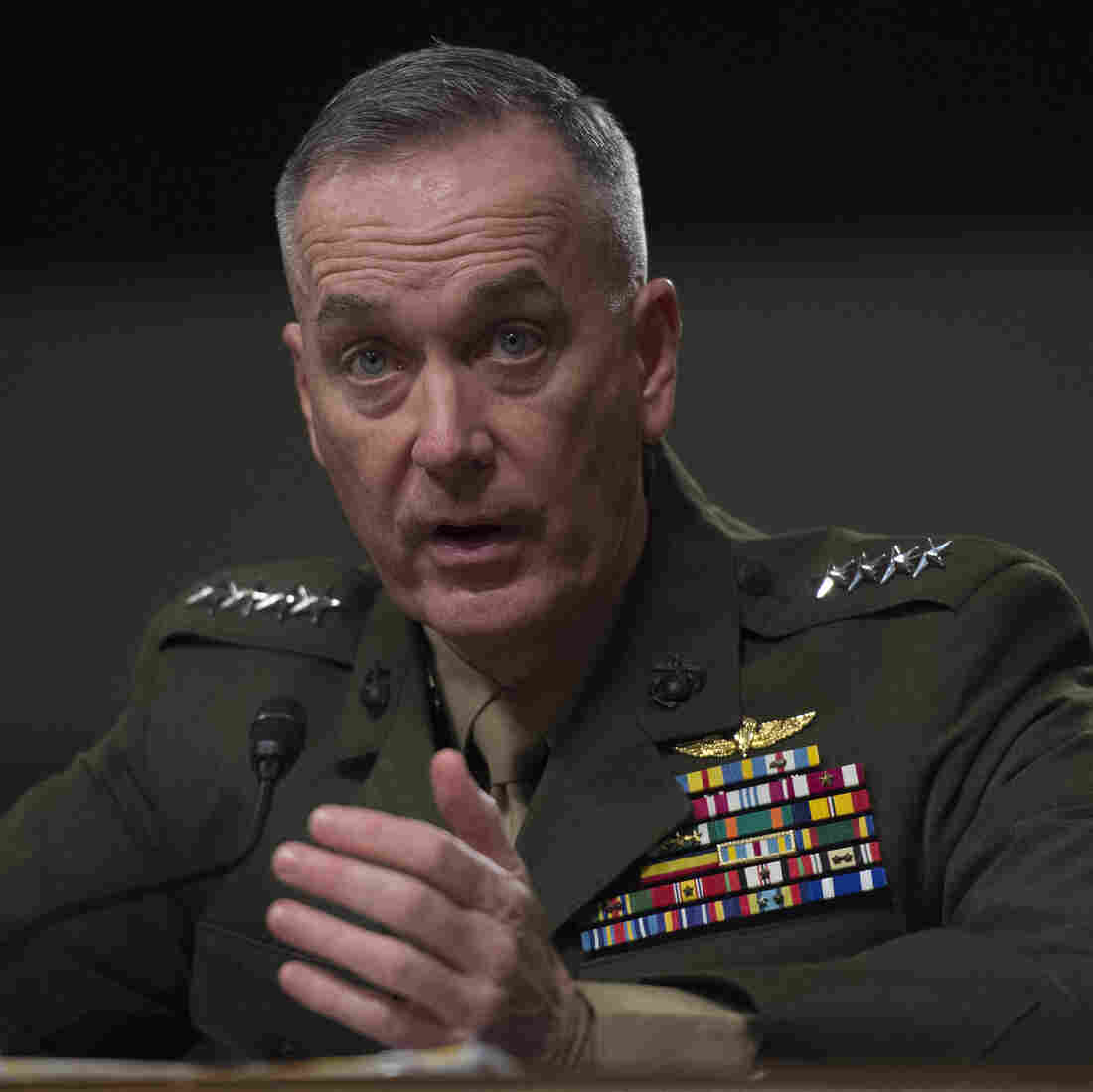 Obama Nominates Marine General As Next Joint Chiefs Chairman