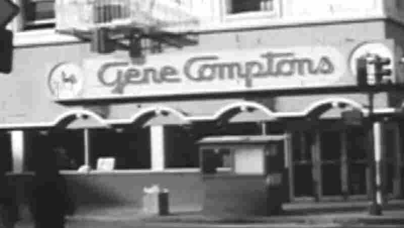 A view of Gene Compton's cafeteria In San Francisco's Tenderloin District. In 1966, the eatery was the site of landmark confrontations between police and transgender activists.
