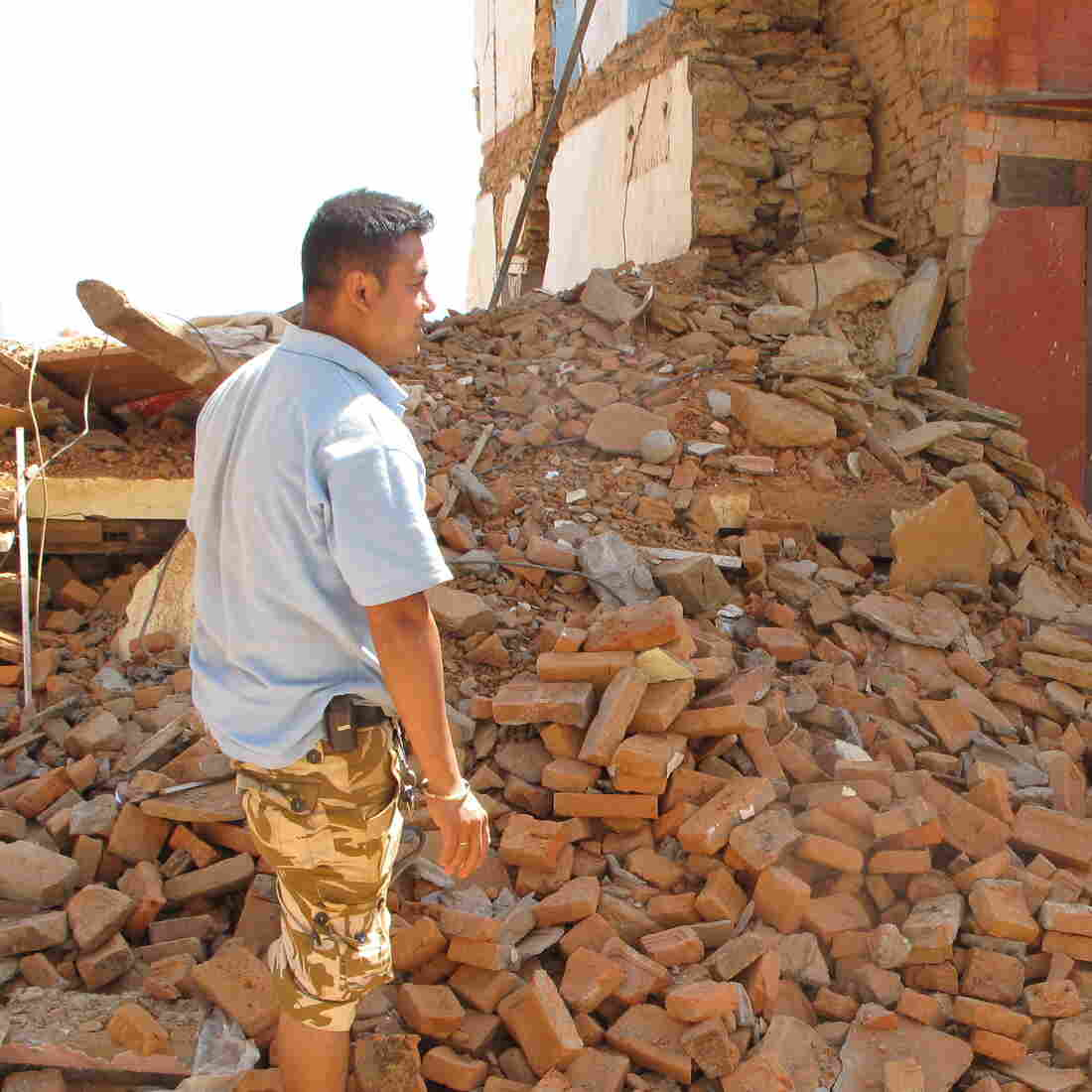 Nepali Village Struggles To Recover From Earthquake