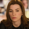 Julianna Marguiles plays attorney Alicia Florrick in the CBS drama The Good Wife.