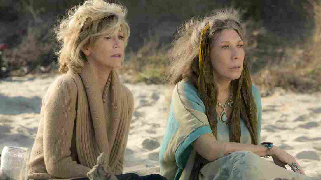 Jane Fonda and Lily Tomlin in the Netflix series Grace and Frankie.