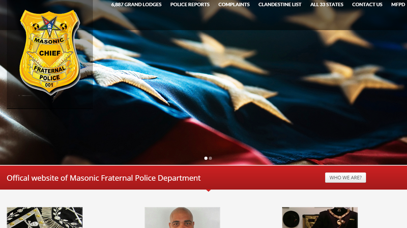 A screen grab from the group's website.