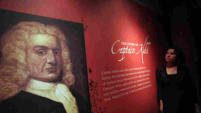 A portrait of Capt. William Kidd at the Museum of London Docklands, in east London, shown in 2011.