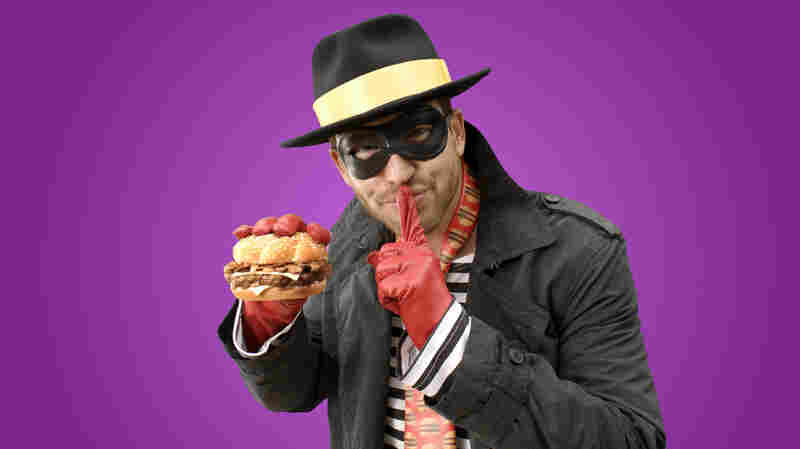 The Hamburglar is all grown up, slimmed down — and with a family.