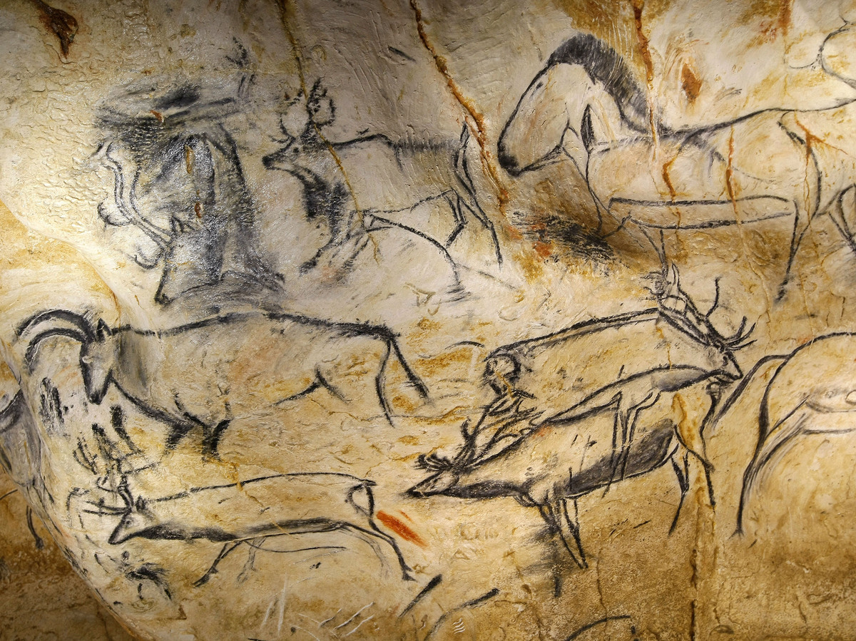 Caveman Paintings France : France s new prehistoric cave art the real thing
