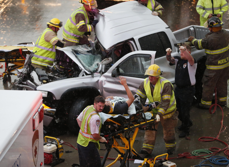 Tornadoes Rake Oklahoma, Destroying Homes And Injuring 12