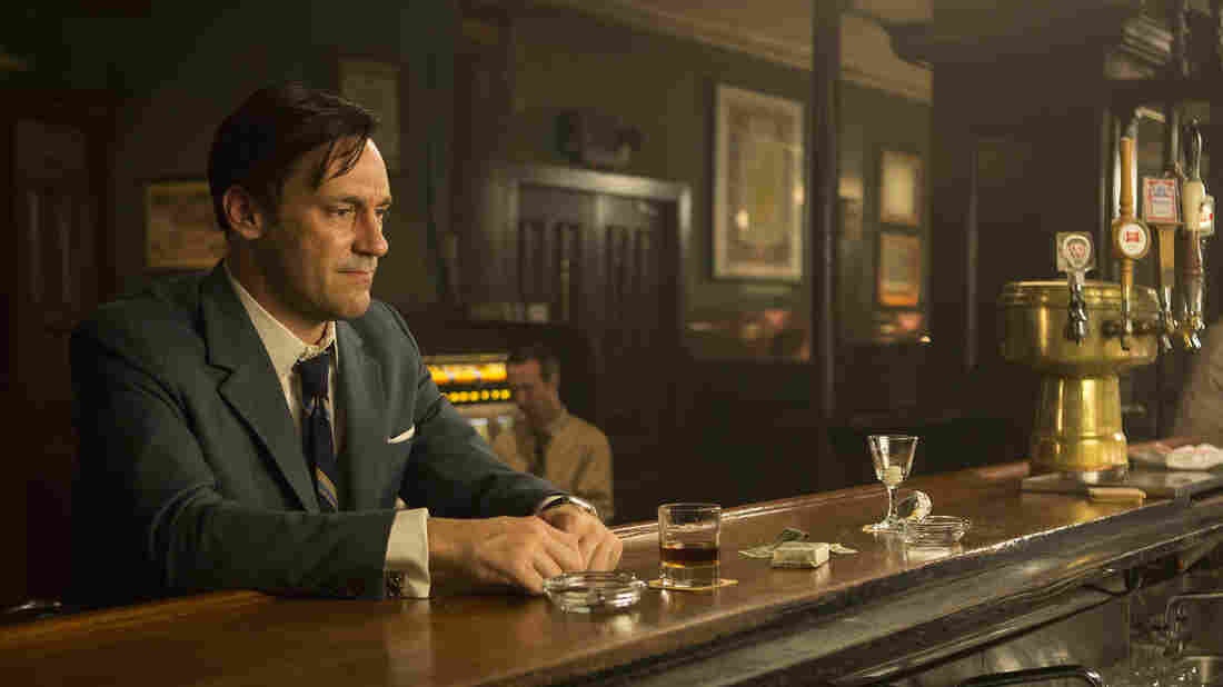 Don Draper (Jon Hamm) faces personal and professional upheaval in the final season of Mad Men.