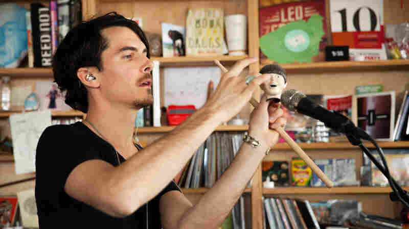Tiny Desk Concert with Eskmo on April 13, 2015.