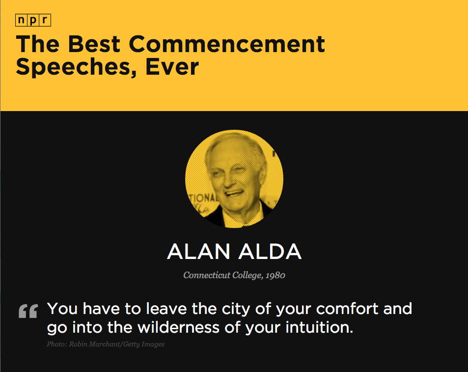 commencement speeches