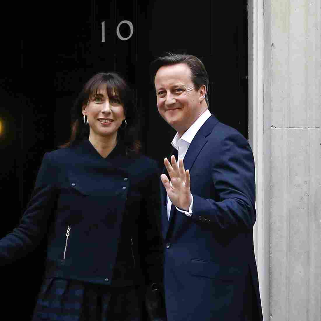 Conservatives Pull Off A Surprisingly Big Win In The U.K.