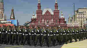 At Russia's Huge WWII Remembrance, An Absence Of Western Leaders