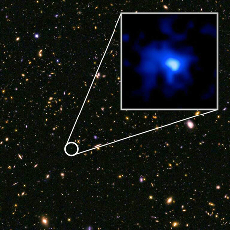 At 13 Billion Light-Years Away, Galaxy Is Farthest To Be Measured From Earth