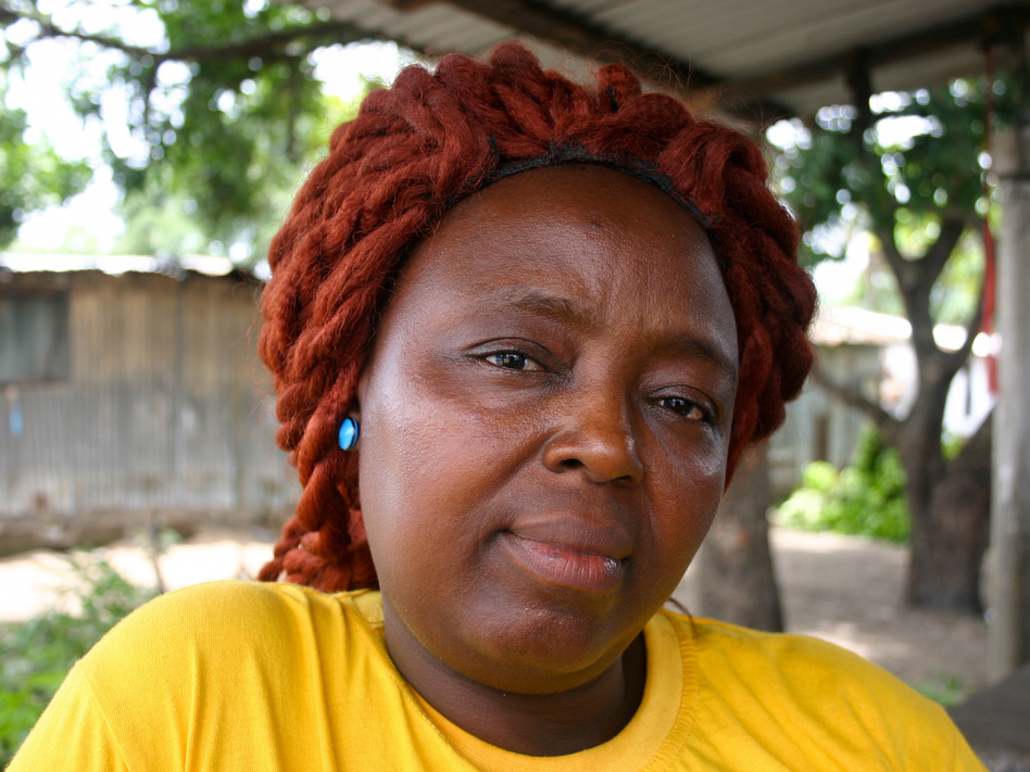"Caroline Williams is a community organizer in New Kru Town, a suburb of Monrovia. Here's how she got her message through to Liberians about preventing Ebola: ""We talk to them, talk to them, talk to them. At last they started listening to us. All the methods that we been giving them, by God's will, they accepted."" (Jason Beaubien/NPR)"