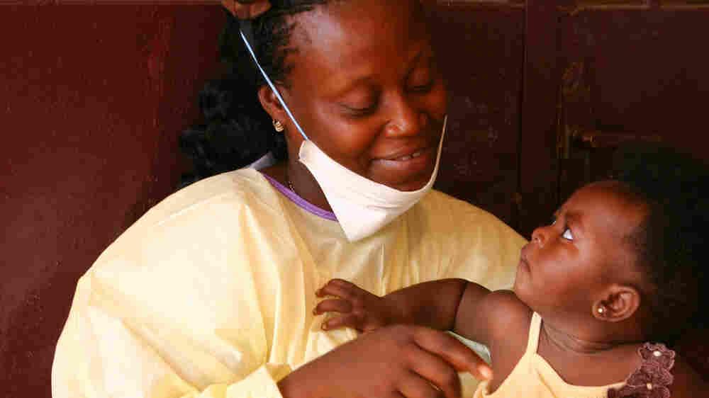 As Ebola Leaves Liberia, Measles Makes A Forceful Comeback