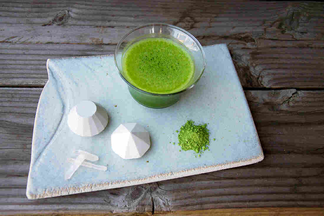 Ground, sifted and whisked, matcha tea has been used in Japanese tea ceremonies for around 800 years.