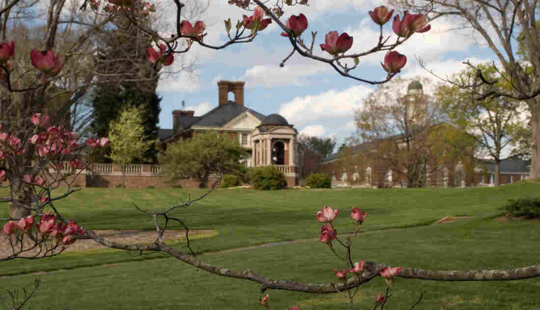 The Sweet Briar College campus in western Virginia.