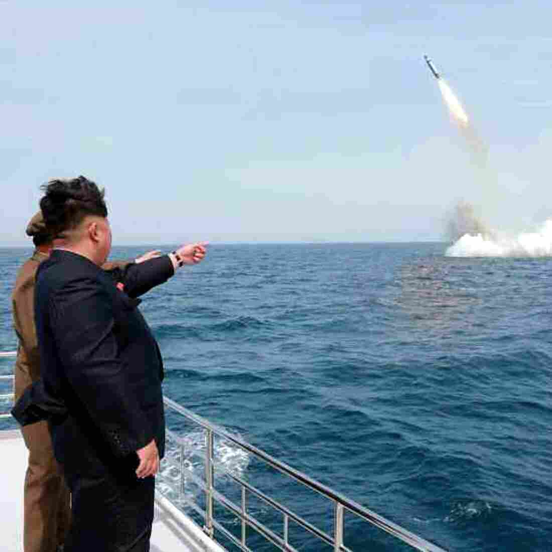 North Korea Claims Missile Launch From Submerged Submarine