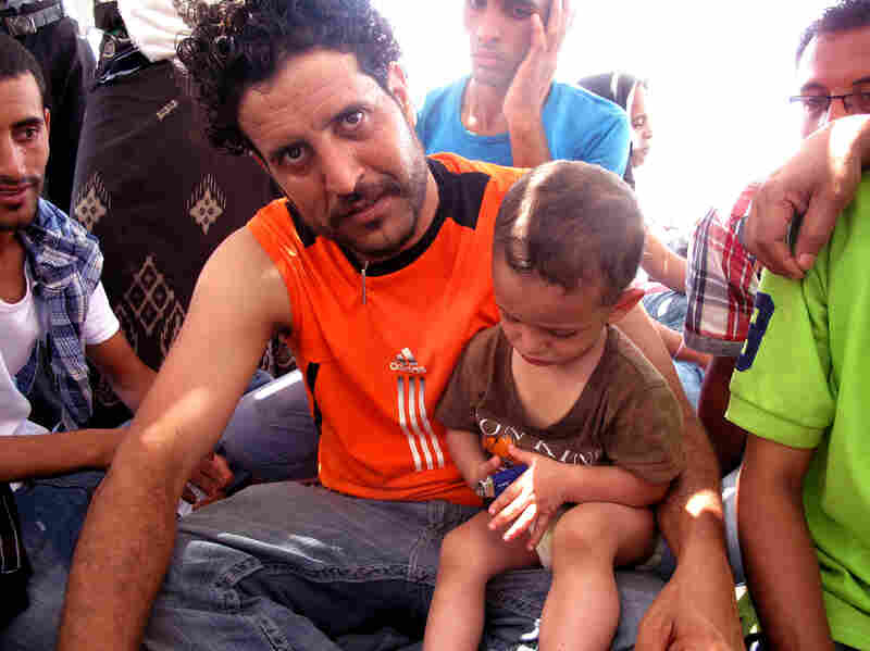 Ahmed Omar's 2-year-old son, Mohamed, was one of the youngest American citizens escaping Yemen on board the Amiri Red Sea.