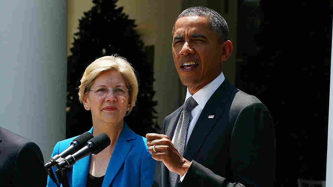 Sen. Elizabeth Warren has been a leading voice on the left against the Trans-Pacific Partnership, the president's signature trade initiative.