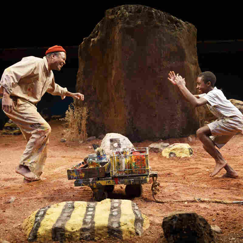 Athol Fugard Breaks Fences Around 'The Painted Rocks At Revolver Creek'