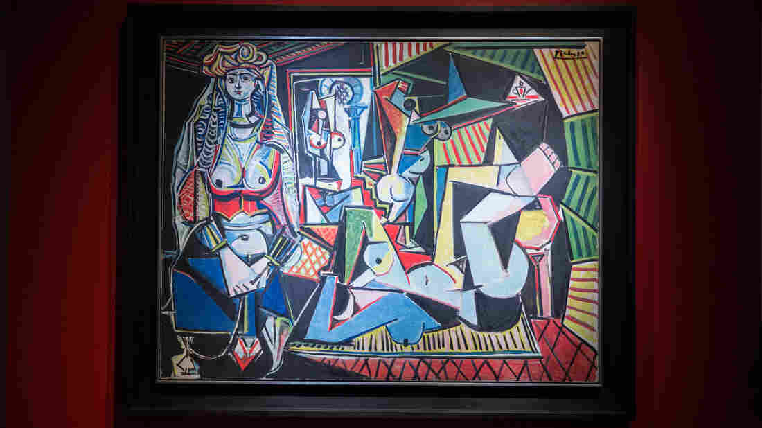 The Picasso work Women of Algiers (Version O) was sold for a record-breaking $179,365,000 Monday by Christie's auction house, making it the most expensive painting ever sold.