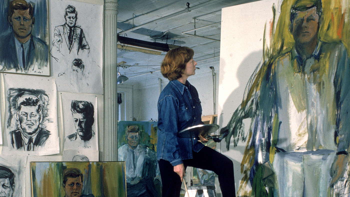 For Artist Elaine De Kooning Painting Was A Verb Not A