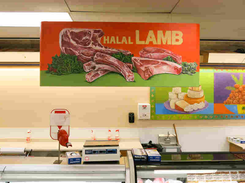 Arash International Market is one of a handful of grocery stores in Aurora that sell halal-certified meat, including lamb.