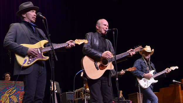 Dave and Phil Alvin. (Mountain Stage)