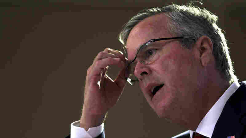 Jeb Bush continues to struggle to articulate a position on Iraq and separate himself from his brother's most unpopular policy.
