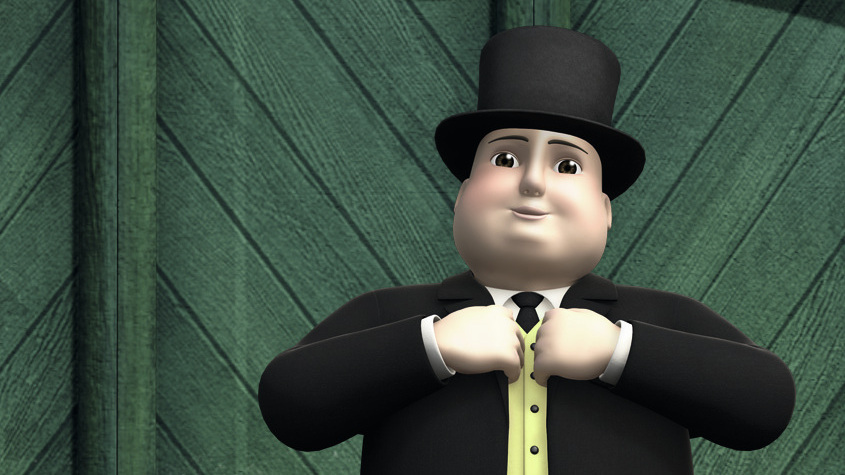Image result for Sir Topham Hatt happy