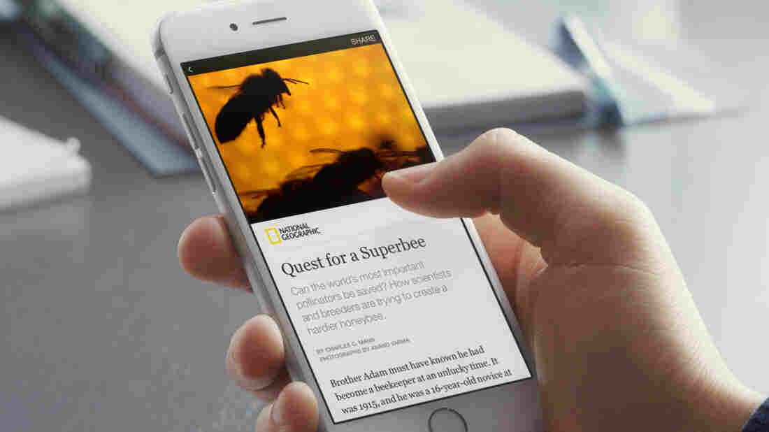 """Nine media organizations, including The New York Times and National Geographic, have signed a deal to distribute their content through a new Facebook feature called """"Instant Articles."""""""