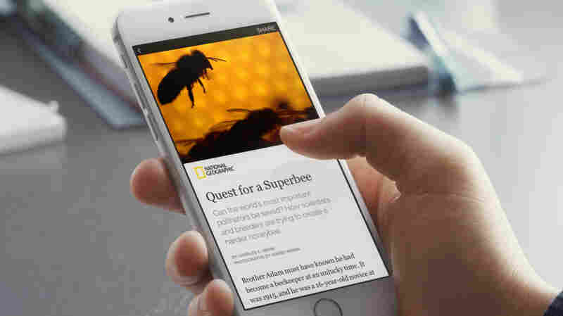 "Nine media organizations, including The New York Times and National Geographic, have signed a deal to distribute their content through a new Facebook feature called ""Instant Articles."""